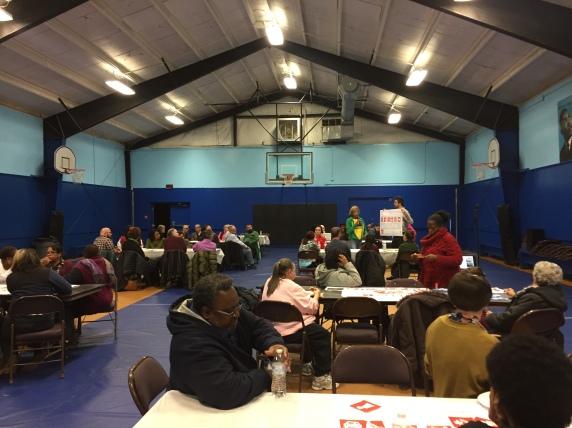 Community Meeting 1 - A.D. Lewis Community Center