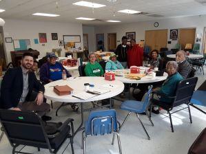 Resident Feedback at the Marie Redd Senior Center