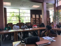 Youth Engagement Meeting at Huntington High School