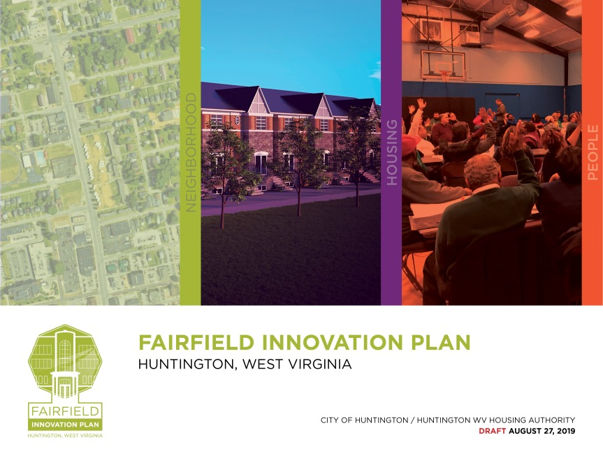 The First Draft of the Fairfield Innovation Plan is NowAvailable!